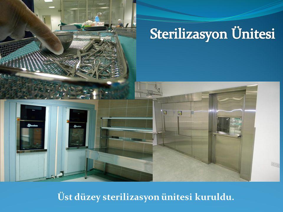 Sterilizasyon Ünitesi