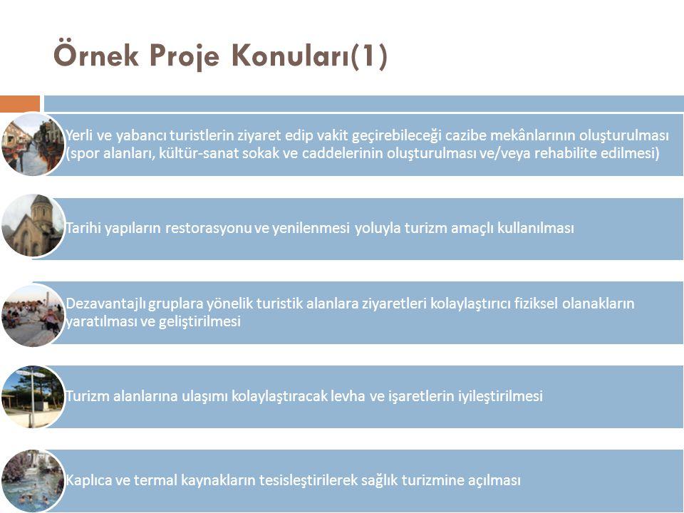 Örnek Proje Konuları(1)