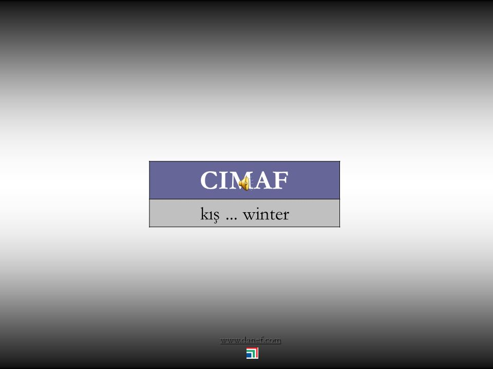 CIMAF kış ... winter