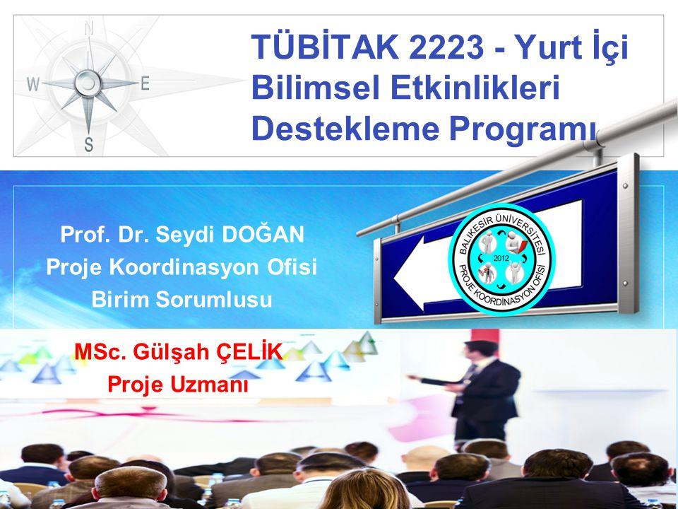 TÜBİTAK 2223 - Yurt İçi Bilimsel Etkinlikleri Destekleme Programı
