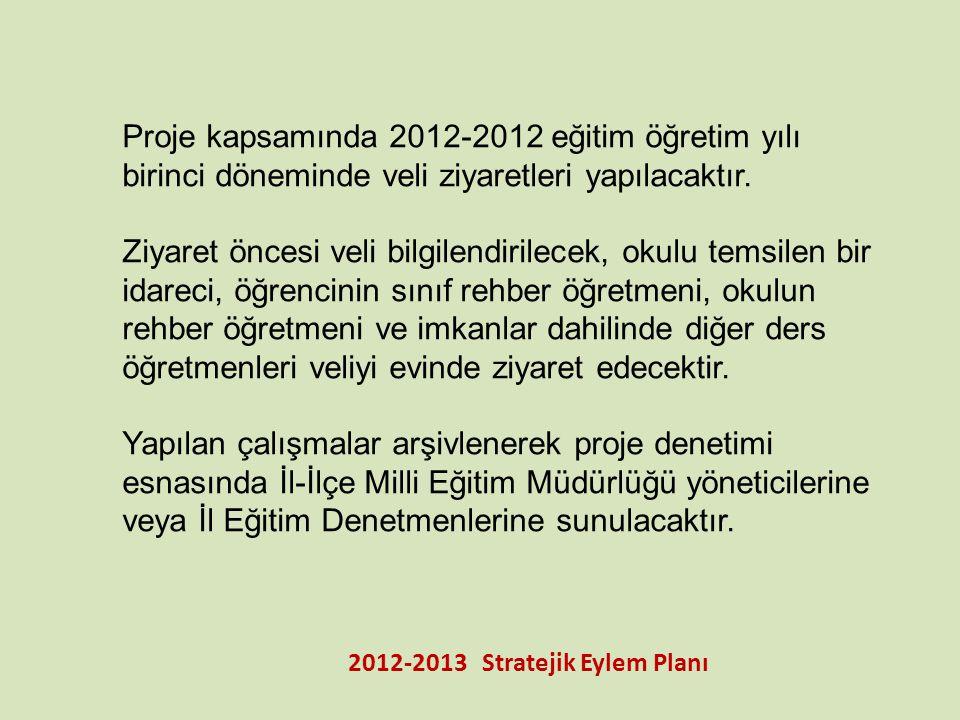 2012-2013 Stratejik Eylem Planı