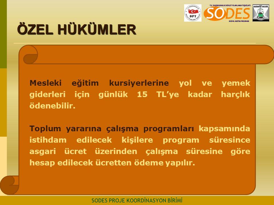 SODES PROJE KOORDİNASYON BİRİMİ
