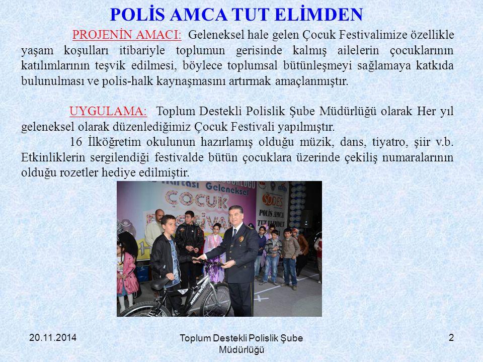 Toplum Destekli Polislik Şube Müdürlüğü