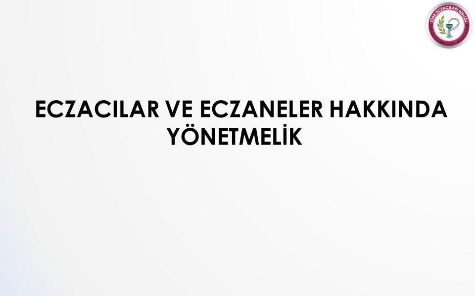 ECZACILAR VE ECZANELER HAKKINDA