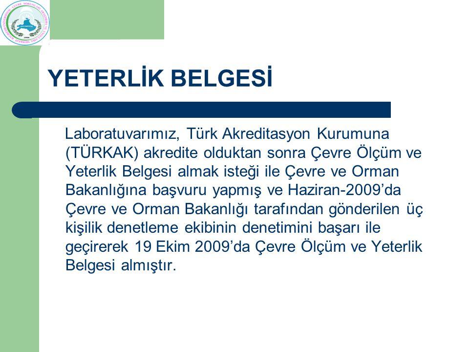 YETERLİK BELGESİ