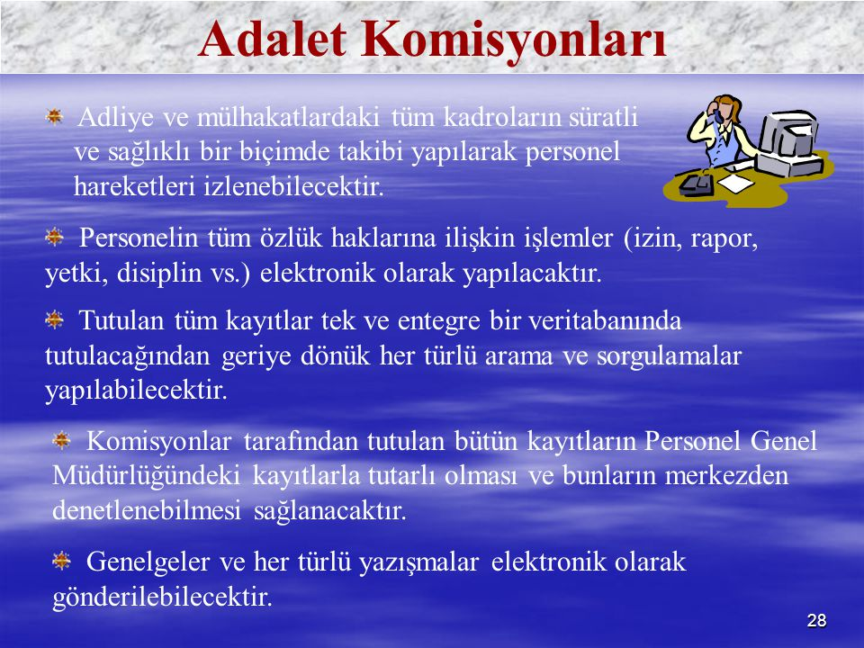 Adalet Komisyonları Adliye ve mülhakatlardaki tüm kadroların süratli