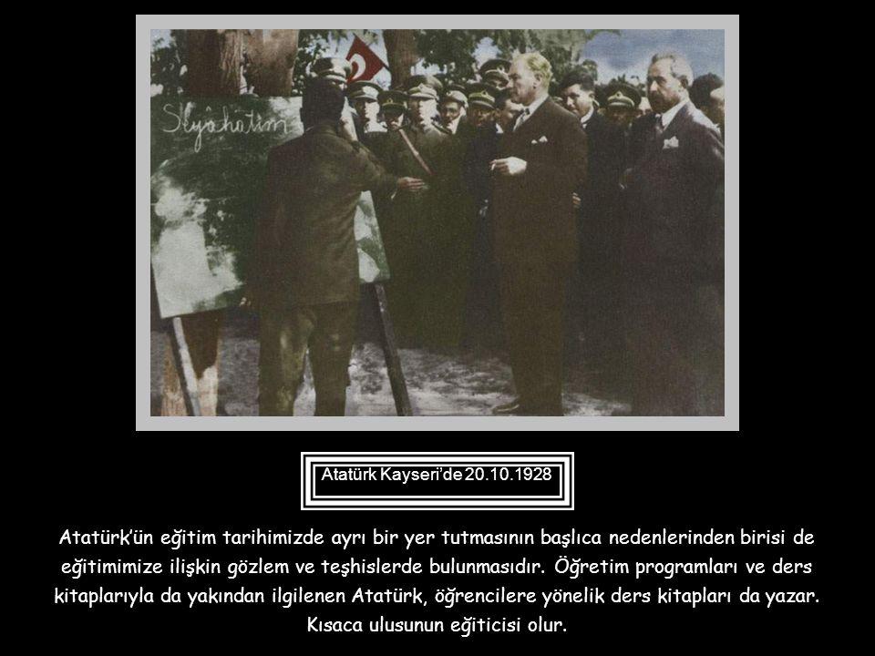 Atatürk Kayseri'de 20.10.1928