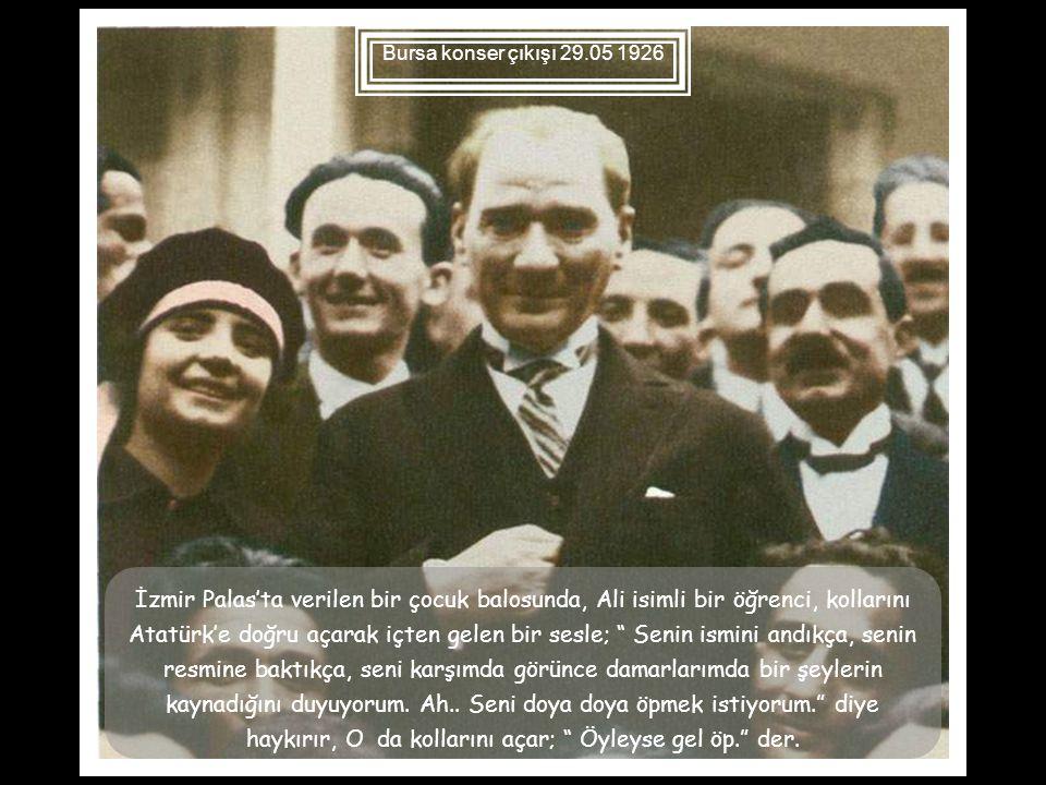 Bursa konser çıkışı 29.05 1926