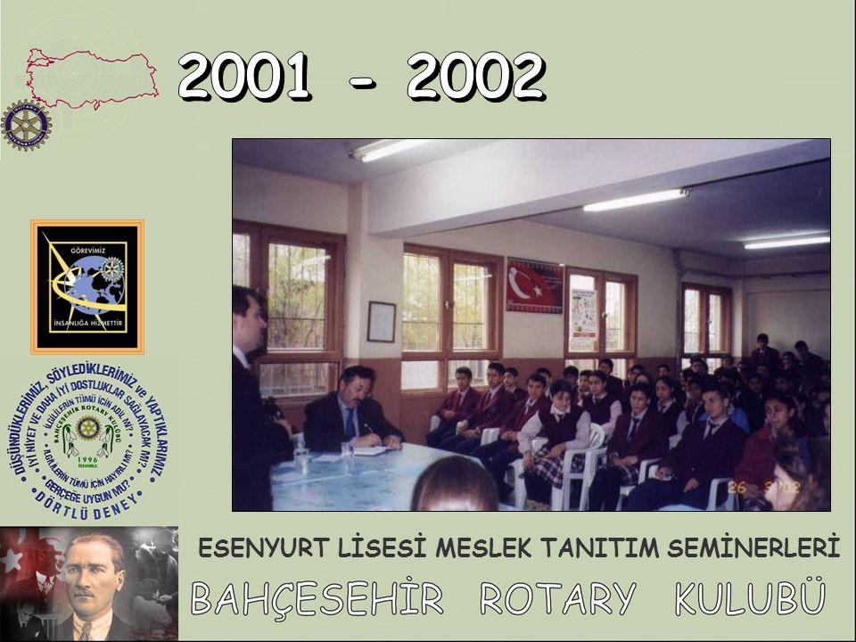ESENYURT LİSESİ MESLEK TANITIM SEMİNERLERİ