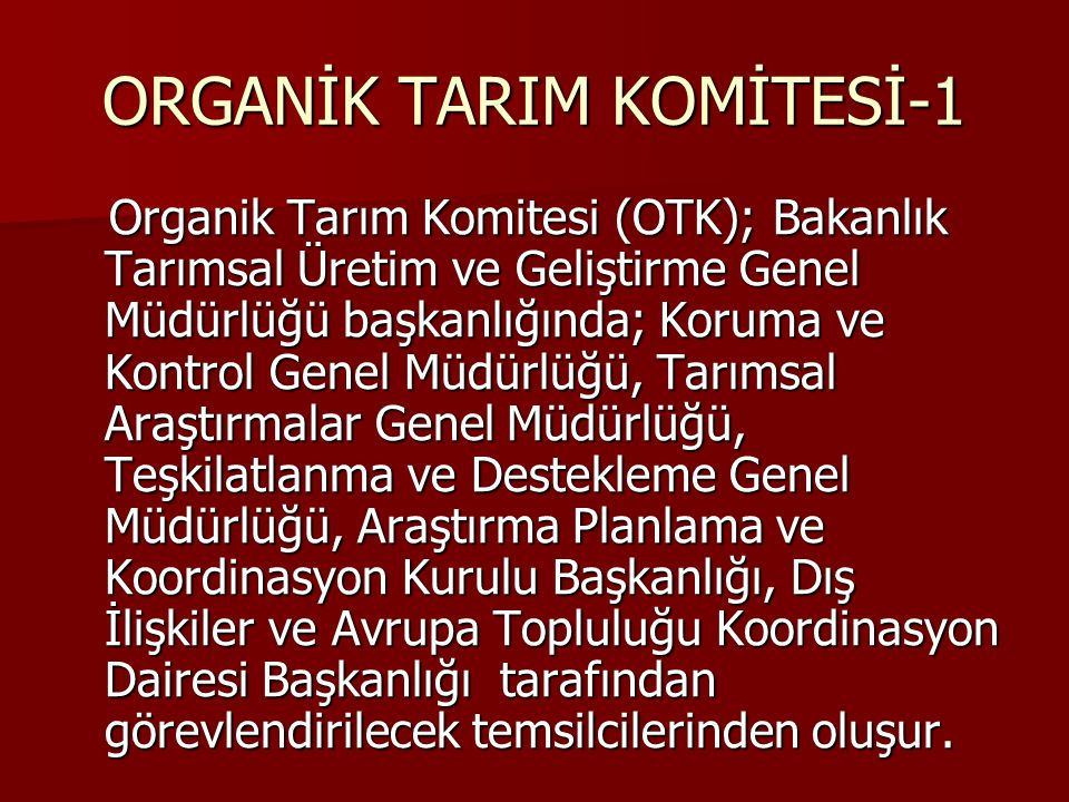 ORGANİK TARIM KOMİTESİ-1