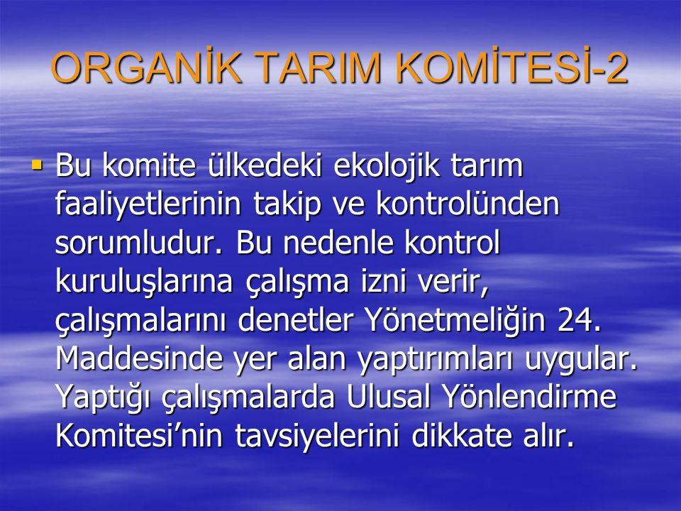 ORGANİK TARIM KOMİTESİ-2