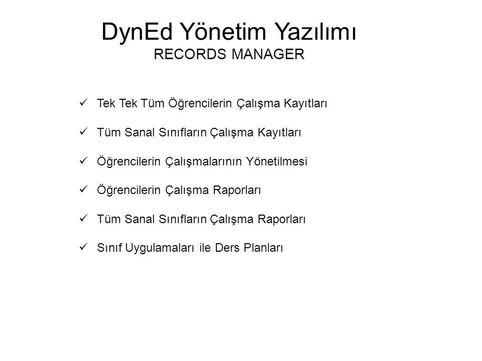 DynEd Yönetim Yazılımı