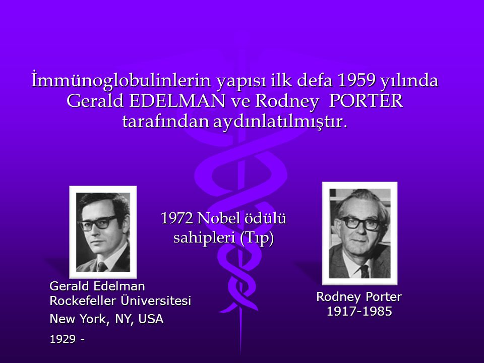 1972 Nobel ödülü sahipleri (Tıp)