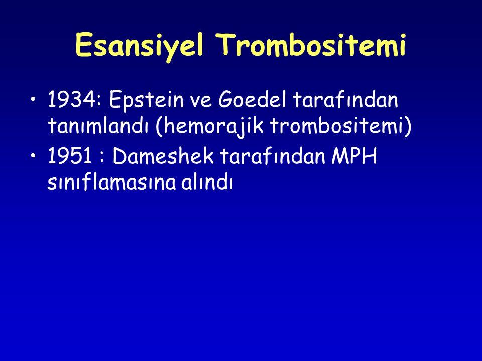 Esansiyel Trombositemi