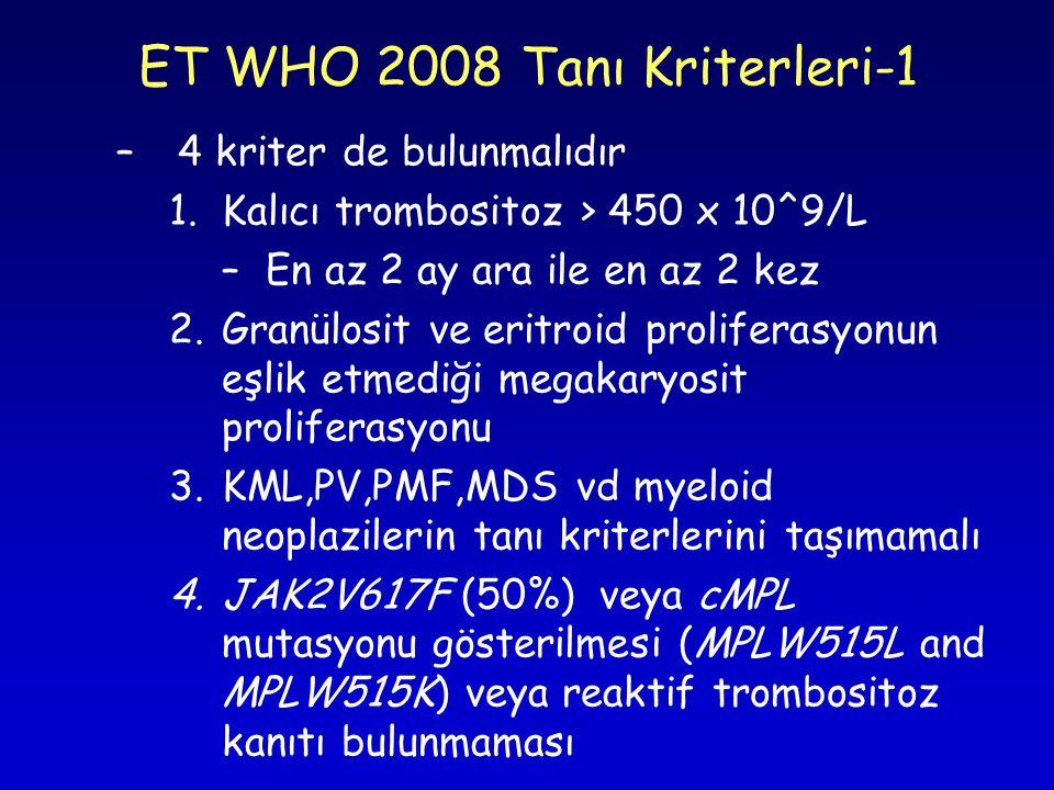 ET WHO 2008 Tanı Kriterleri-1