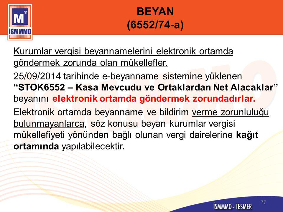 BEYAN (6552/74-a)