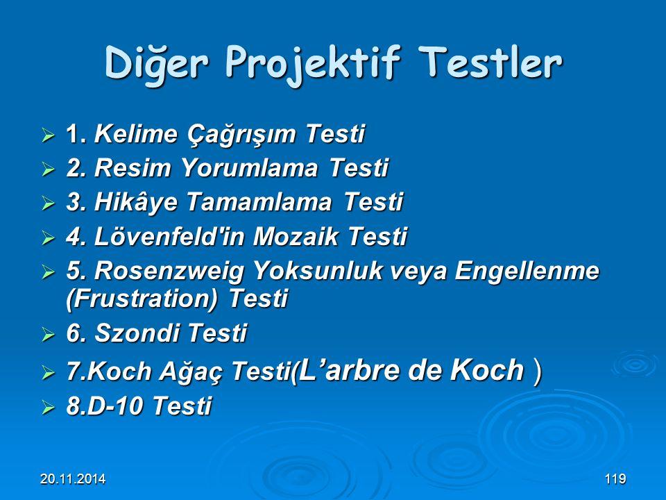 Diğer Projektif Testler