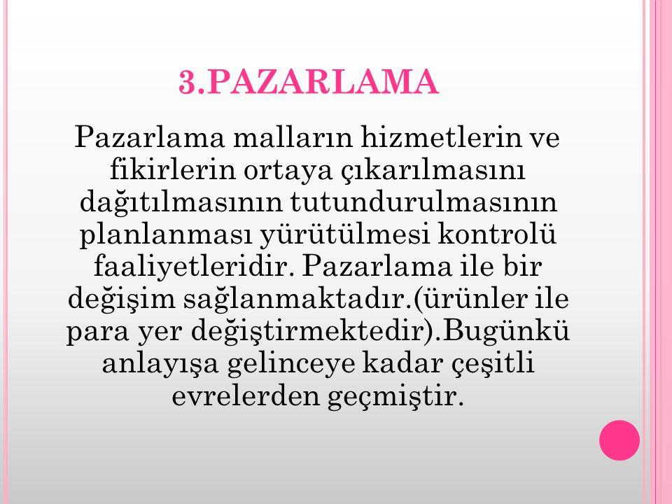 3.PAZARLAMA