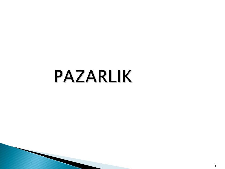 PAZARLIK