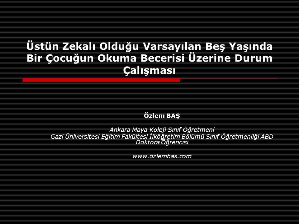 Ankara Maya Koleji Sınıf Öğretmeni