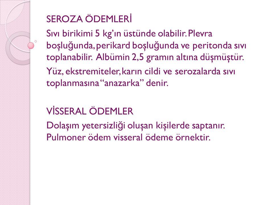 SEROZA ÖDEMLERİ