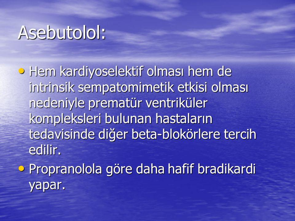 Asebutolol:
