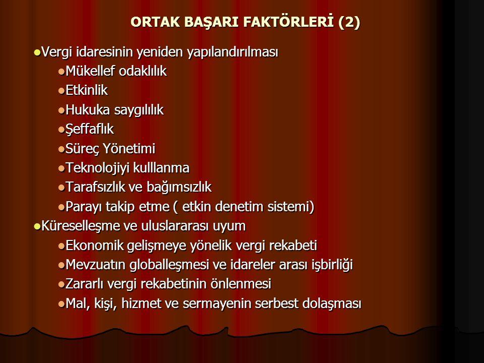 ORTAK BAŞARI FAKTÖRLERİ (2)