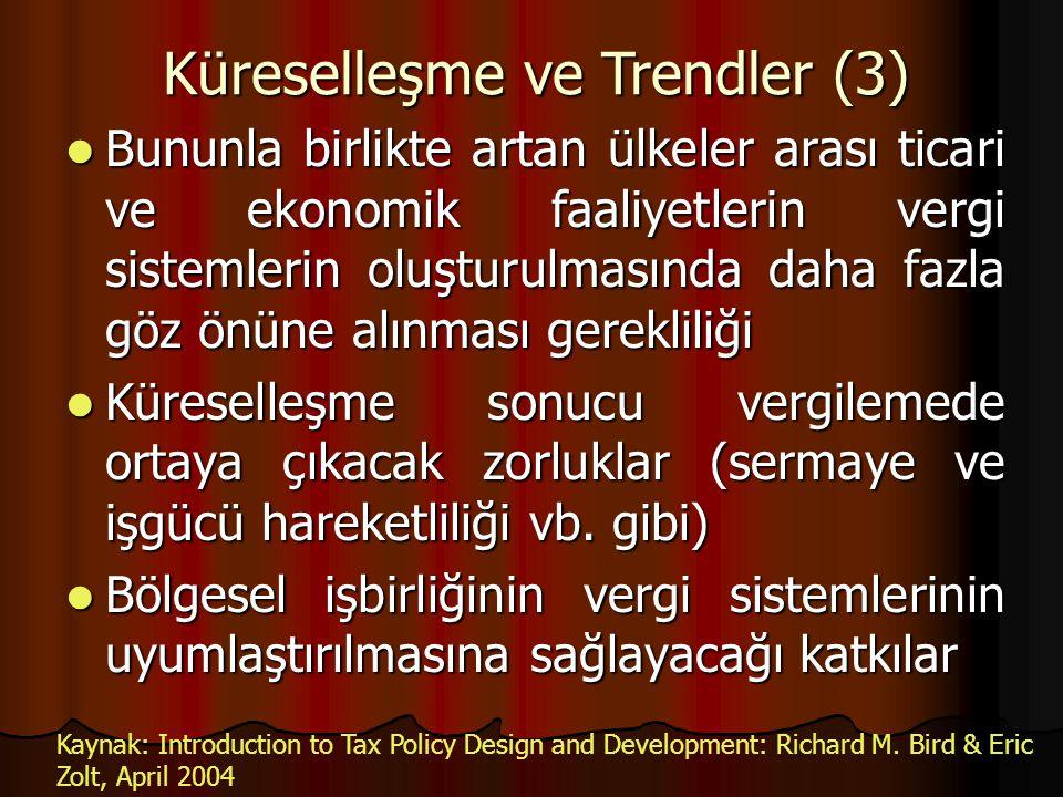 Küreselleşme ve Trendler (3)