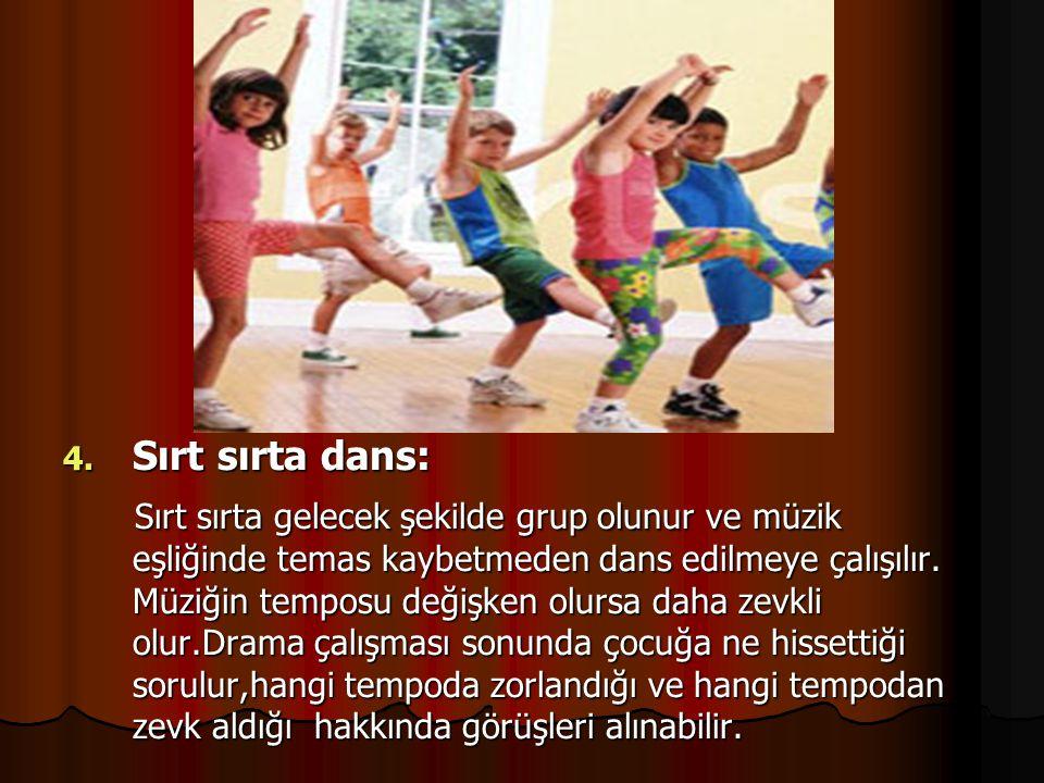 Sırt sırta dans: