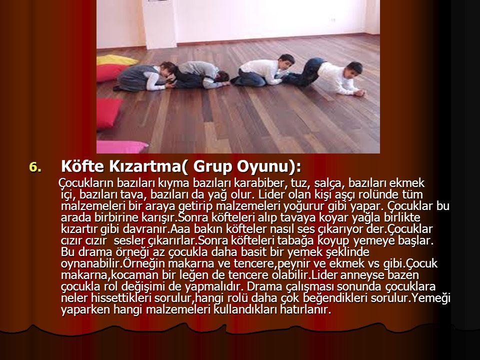 Köfte Kızartma( Grup Oyunu):