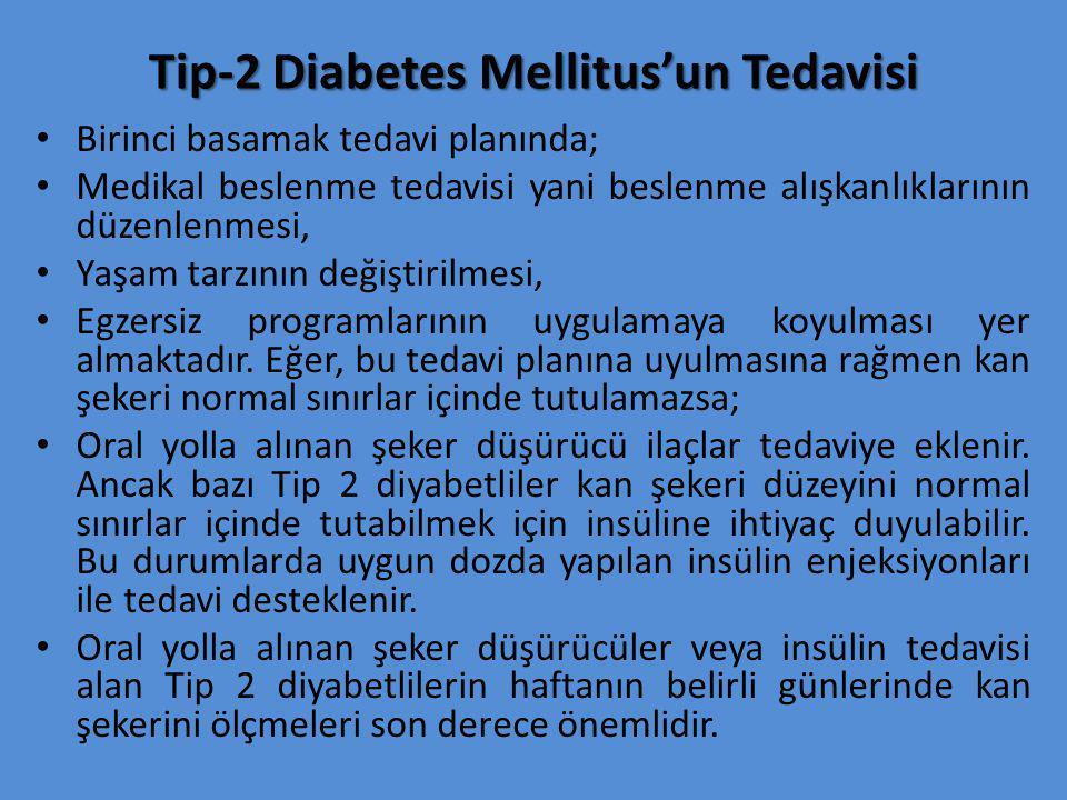 Tip-2 Diabetes Mellitus'un Tedavisi
