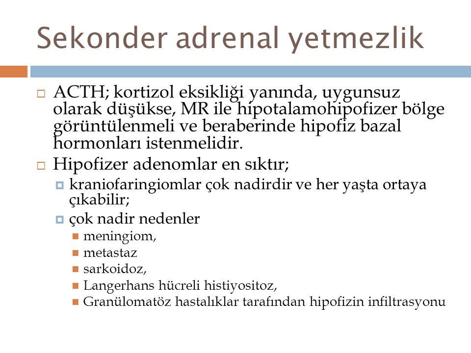 Sekonder adrenal yetmezlik