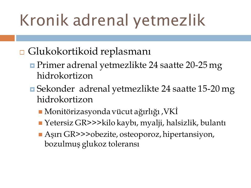 Kronik adrenal yetmezlik