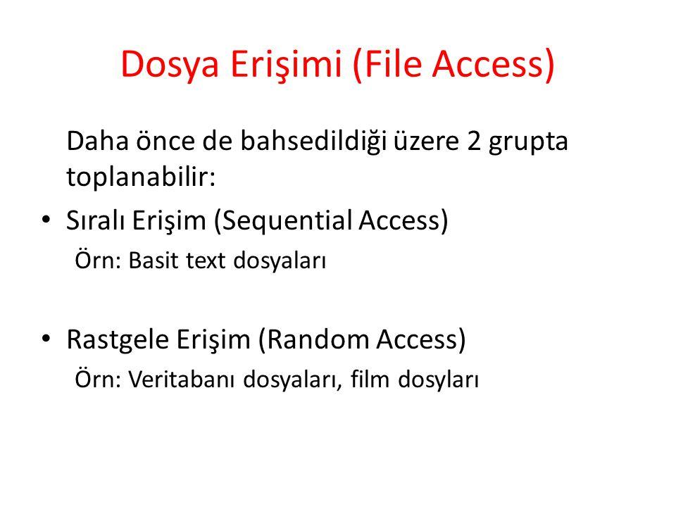 Dosya Erişimi (File Access)