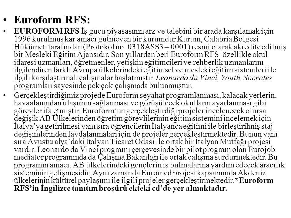Euroform RFS: