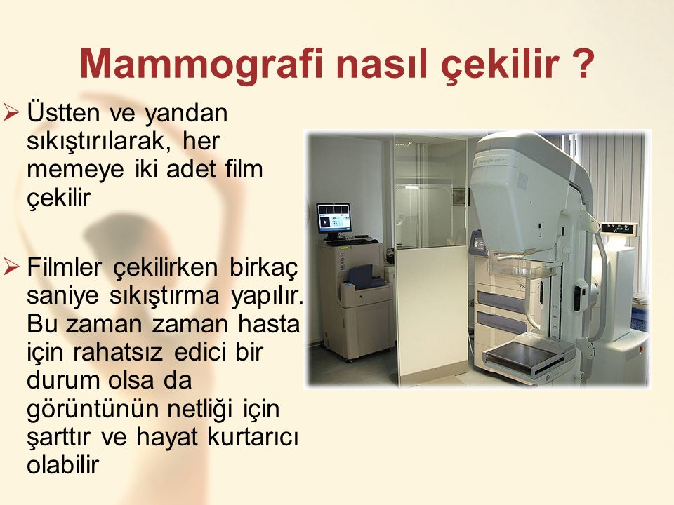Mammografi nasıl çekilir