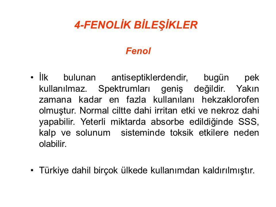 4-FENOLİK BİLEŞİKLER Fenol