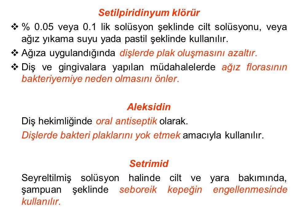 Setilpiridinyum klörür