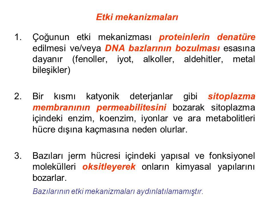 Etki mekanizmaları