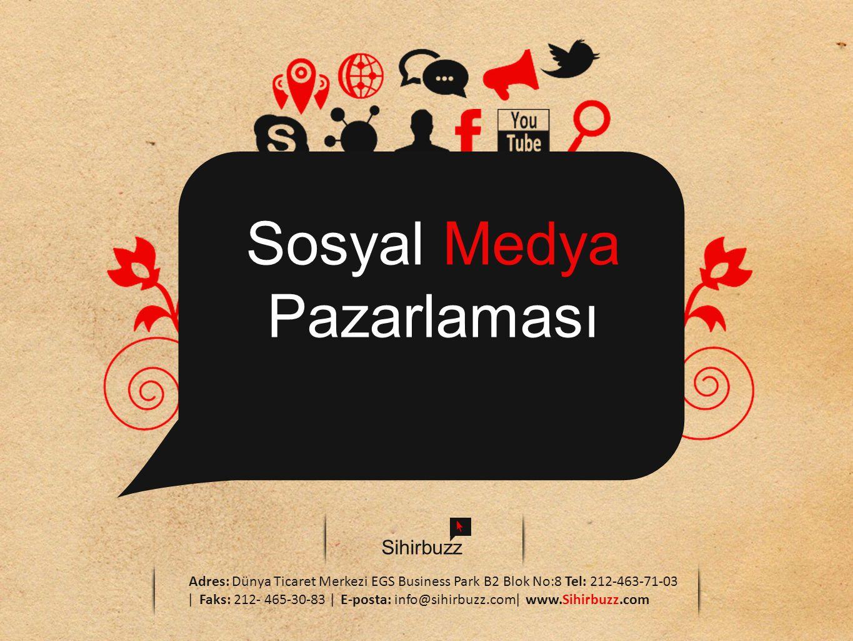 Sosyal Medya Pazarlaması Sihirbuzz