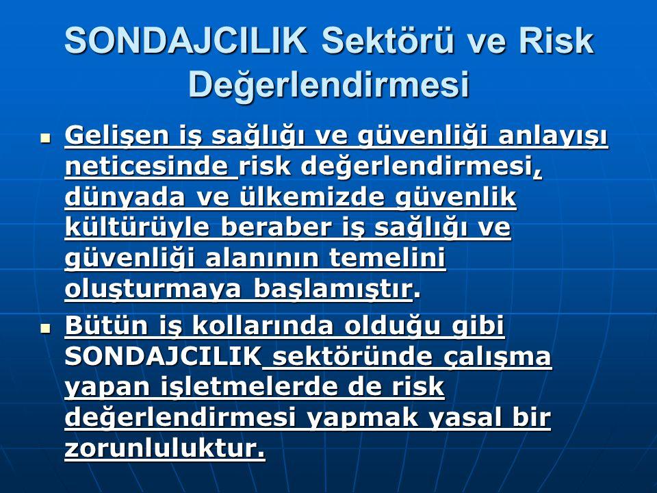 SONDAJCILIK Sektörü ve Risk Değerlendirmesi