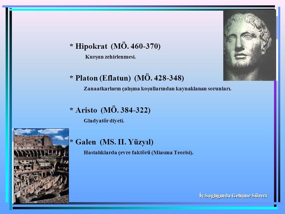 * Platon (Eflatun) (MÖ. 428-348)
