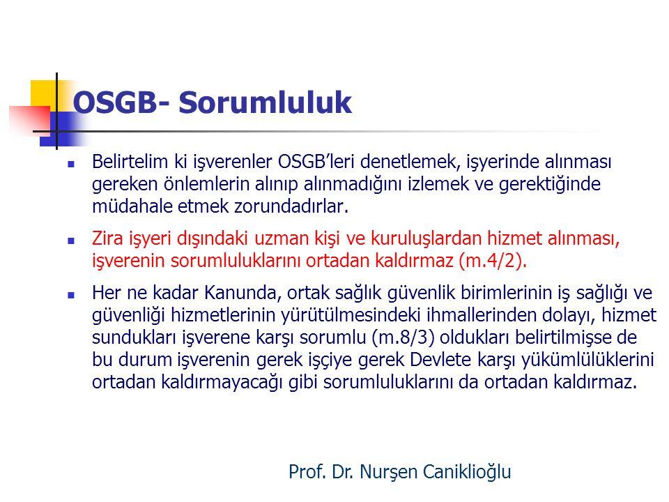 Prof. Dr. Nurşen Caniklioğlu