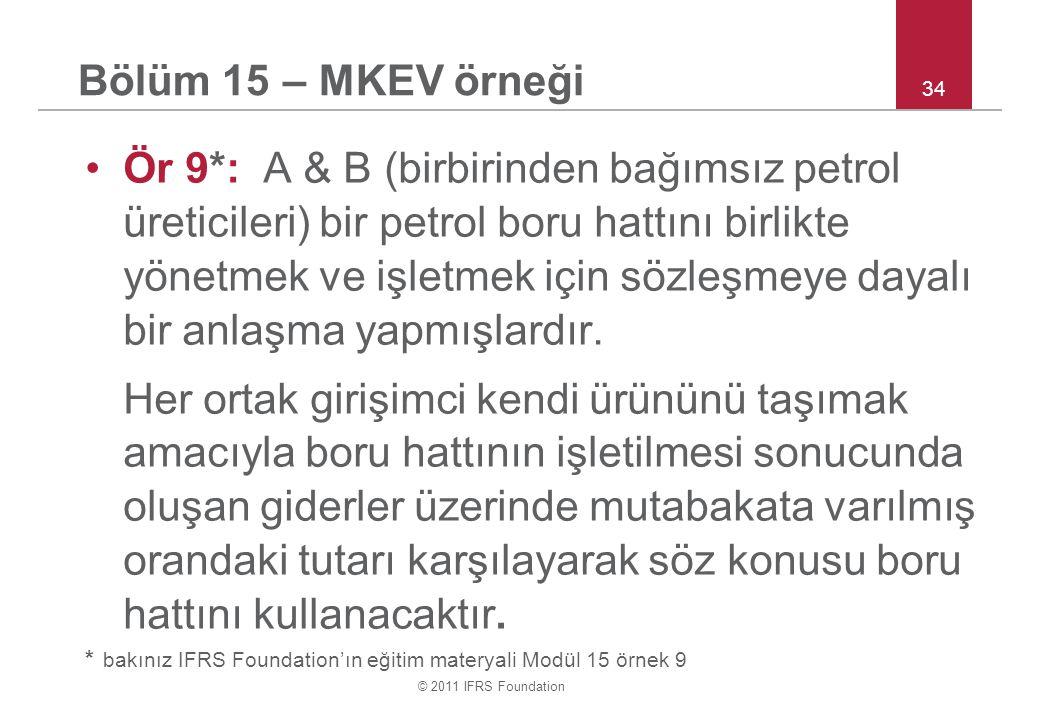 Bölüm 15 – MKEV örneği 34.
