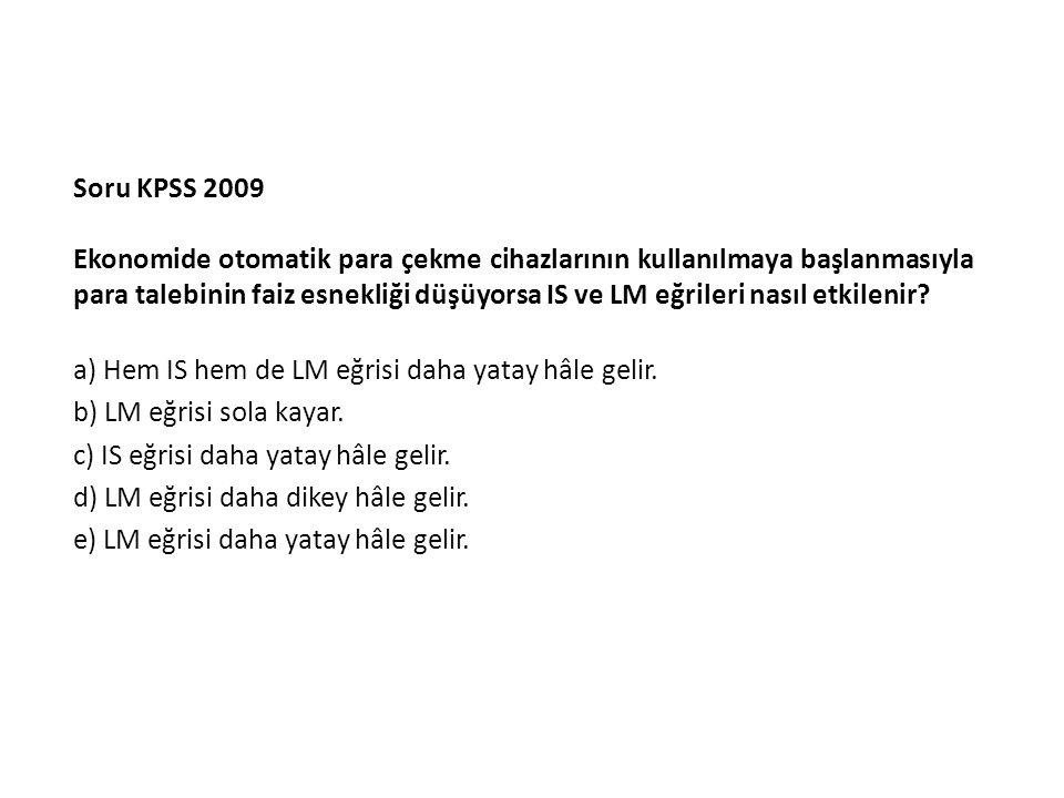 Soru KPSS 2009
