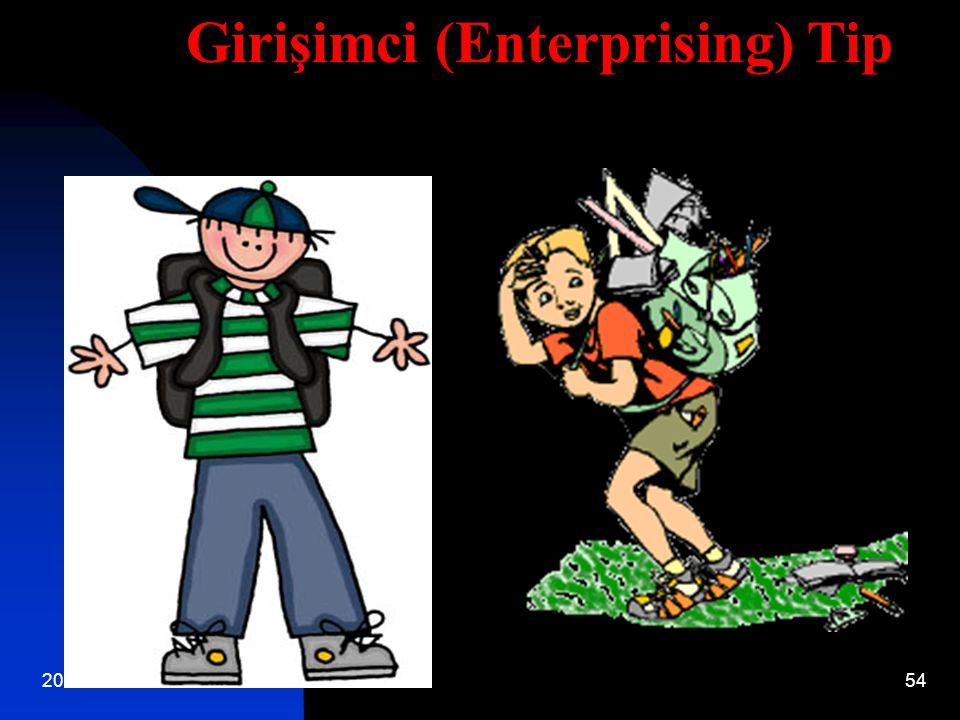 Girişimci (Enterprising) Tip