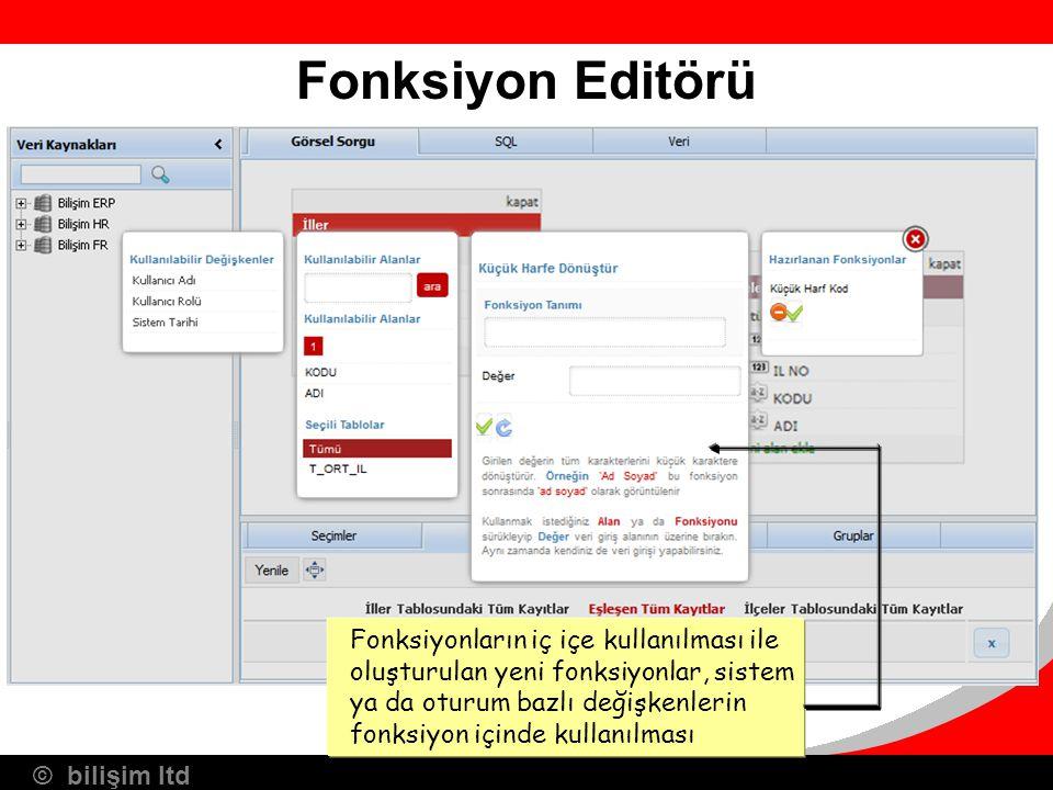 Fonksiyon Editörü