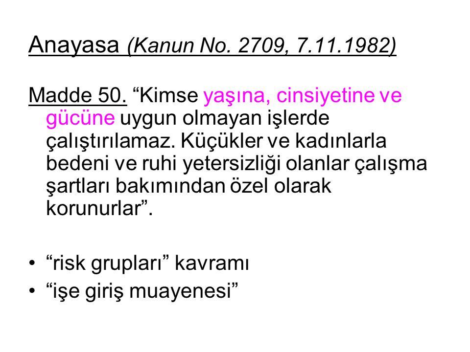 Anayasa (Kanun No. 2709, 7.11.1982)