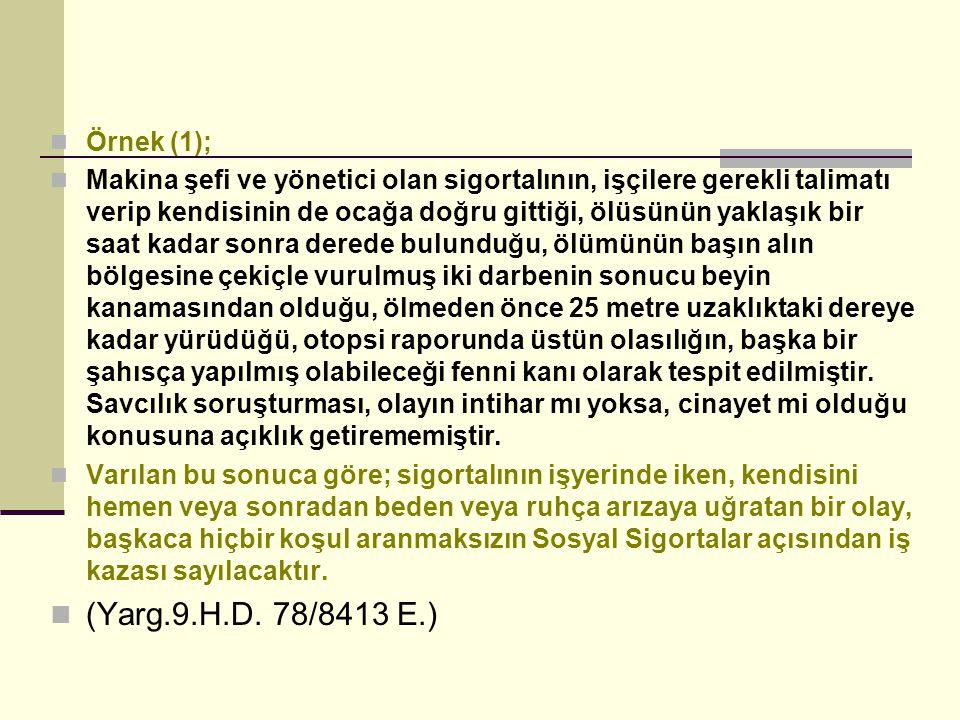 Örnek (1);
