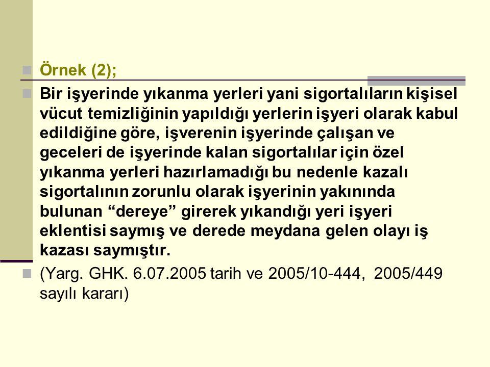 Örnek (2);